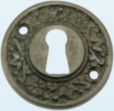 Sleutelrozet messing en brons